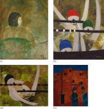 LIN CHUNYAN | Untitled (four works)