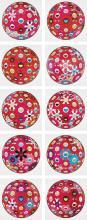 MURAKAMI TAKASHI   Flowerball and others (ten works)