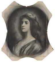 PIET MONDRIAN | Female Portrait Bust in Exotic Costume