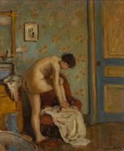 ALBERT ANDRÉ | Femme à sa toilette