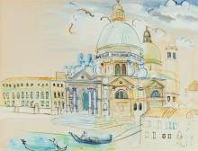 RAOUL DUFY | Santa Maria della Salute, Venise