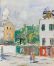 MAURICE UTRILLO | Montmartre avec vue de Sacré-Coeur
