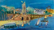 JEAN DUFY | Le pont Alexandre III