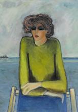 JEAN-PIERRE CASSIGNEUL | Femme à la chaise longue