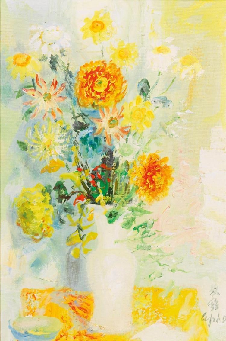 Le pho bouquet de fleurs oranges et jaunes for Bouquet de fleurs jaunes