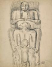SIR JACOB EPSTEIN | The Father, the Son and the Patriarch