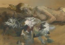 LEONARD ROSOMAN, R.A. | Sleeping Girl