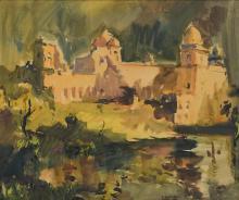 SAYED HAIDER RAZA | Untitled (Jahaz Mahal)