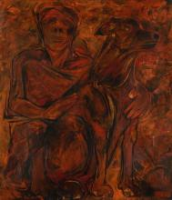 KRISHEN KHANNA | Untitled (Man and Dog)