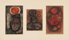 AMBADAS KHOBRAGADE | Untitled (Set of Three)