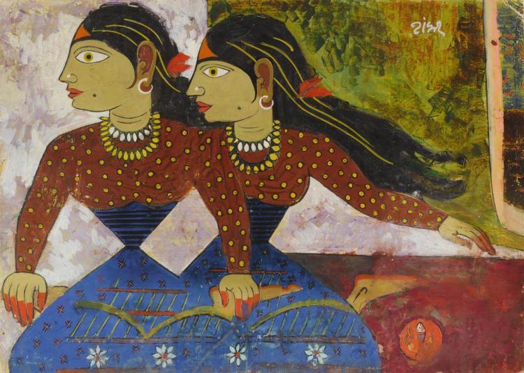 SHANKAR BALWANT PALSIKAR | Untitled