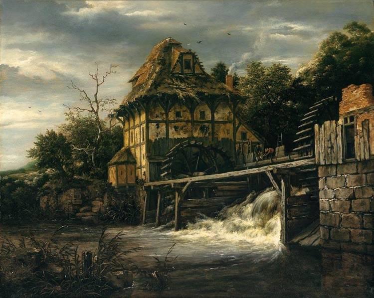 JACOB ISAACKSZ. VAN RUISDAEL HAARLEM 1628/9-1682 AMSTERDAM
