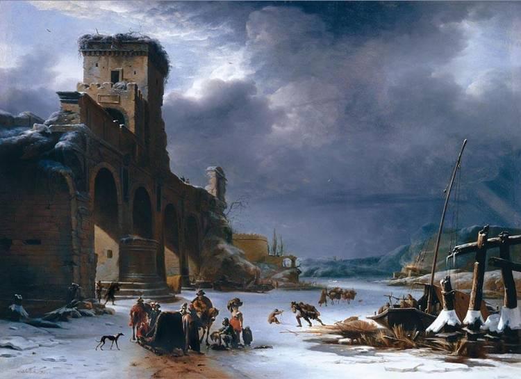 WILLEM SCHELLINKS AMSTERDAM 1623 - 1678
