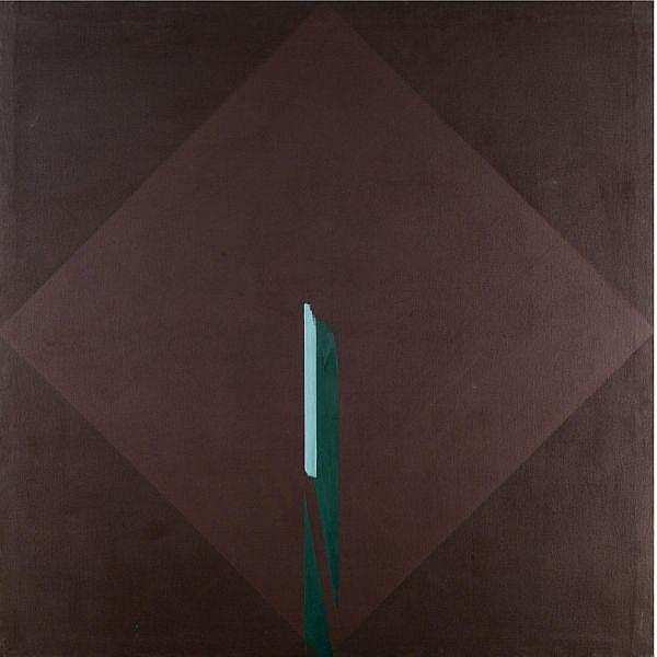 m - Paul Huxley , B.1938 untitled no.5 acrylic on canvas