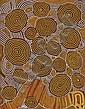 Anatjari Tjampitjinpa 1927-1999 UNTITLED synthetic polymer paint on linen   , Anatjari Tjampitjinpa, Click for value