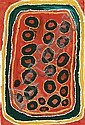 John Mosquito Tjapangarti circa 1922 -2004   LABU synthetic polymer paint on canvas 