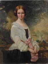GEORGE YEATS   Portrait of Harriet Williamina Stuart Forbes