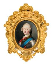 FRENCH SCHOOL   Portrait of Prince Charles Edward Stuart 'the Young Pretender' (1720-1788)