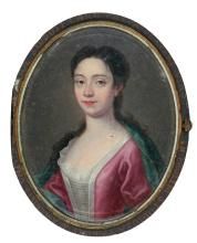 ENGLISH SCHOOL | Portrait of Mary Stuart of Castlemilk (1710-1739)