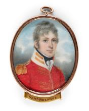 NATHANIEL PLIMER | Portrait of John Murray Belsches, later Major-General Belsches (1782-1863)