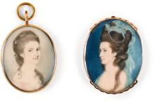 TWO PORTRAIT MINIATURES |