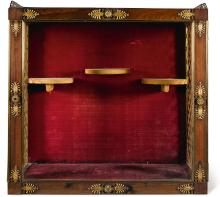 A REGENCY GILT-BRONZE MOUNTED ROSEWOOD WALL CABINET, CIRCA 1820, IN THE MANNER OF MARSH AND TATHAM |
