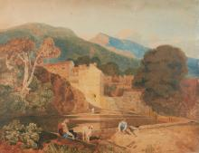 JOHN SELL COTMAN | Classical Landscape