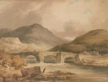 PAUL SANDBY MUNN | Views in Wales, Shropshire and the Lake District