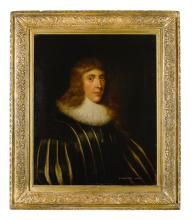 GEORGE JAMESONE   Portrait of Alexander, 1st Lord Forbes of Pitsligo (d. 1636), half-length, wearing a slashed doublet and white ruff