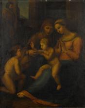 AFTER RAFFAELLO SANZIO, CALLED RAPHAEL   Madonna del Dicino Amore