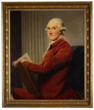 DAVID MARTIN   Portrait of David Leslie, 8th Earl of Leven and 5th Earl of Melville (1722-1802)