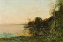 VITTORIO AVONDO   landscape with lake