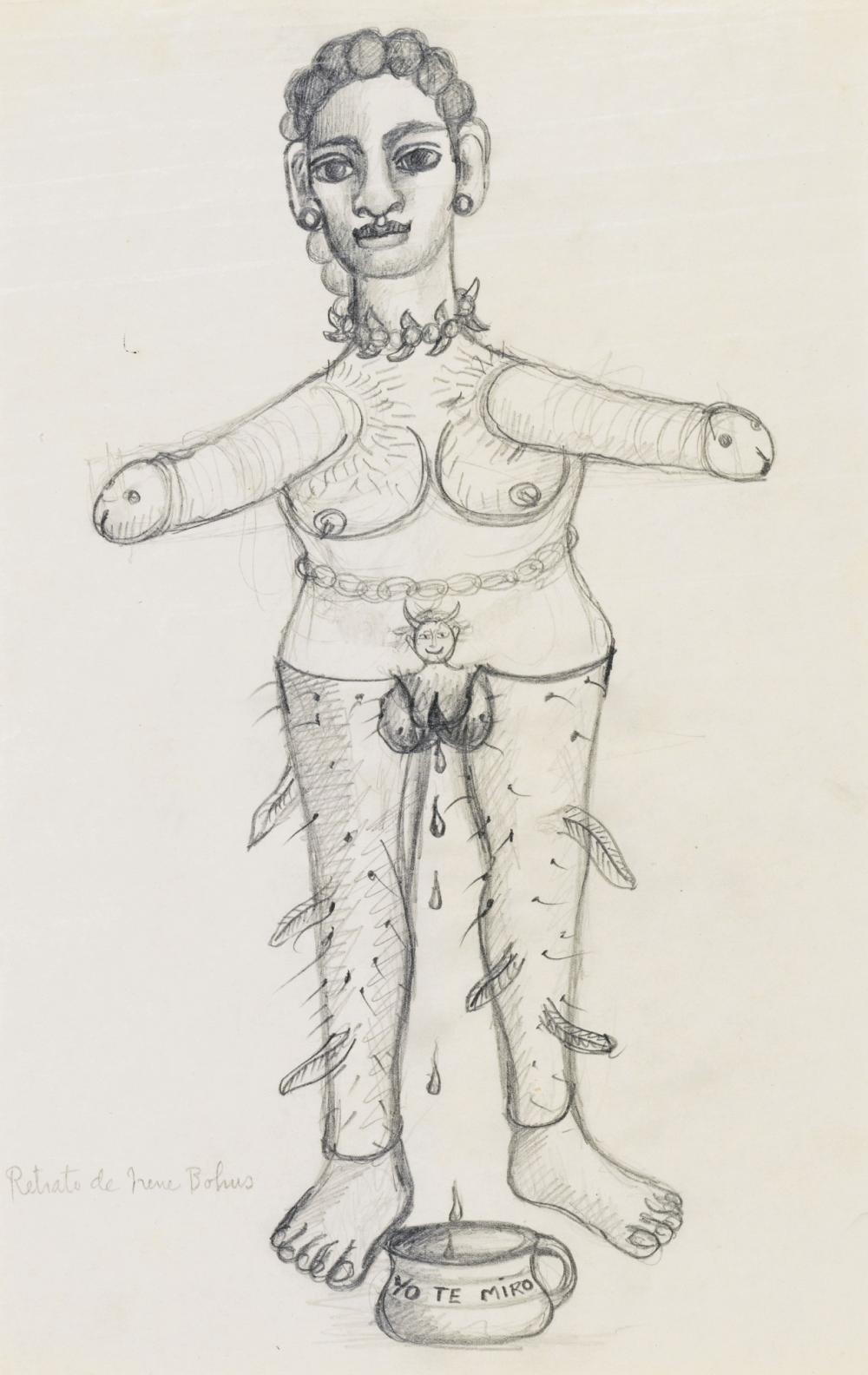 FRIDA KAHLO   Retrato de Irene Bohus