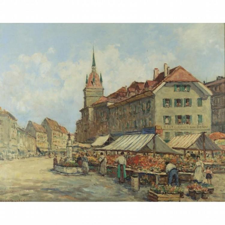DENNIS AINSLEY 1880-1952 A SWISS MARKET