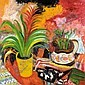 JOHN BELLANY, R.A. B.1942 STILL LIFE WITH A PORT SETON VASE, John Bellany, Click for value