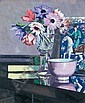 FRANCIS CAMPBELL BOILEAU CADELL 1883-1937 STILL LIFE WITH ANEMONES, Francis Cadell, Click for value