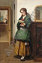 THOMAS FAED, R.A 1826-1900 THE OFFER, Thomas Faed, Click for value