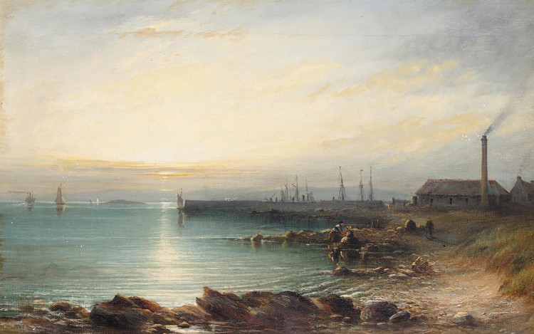 JAMES CASSIE 1819-1879 ON THE FIFE COAST