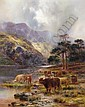 f - LOUIS BOSWORTH HURT 1856-1929 LOCH AWE, Louis Bosworth Hurt, Click for value