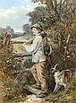 JAMES HARDY JNR. 1832-1889 THE YOUNG GAMEKEEPER, James (1832/1889) Hardy, Click for value