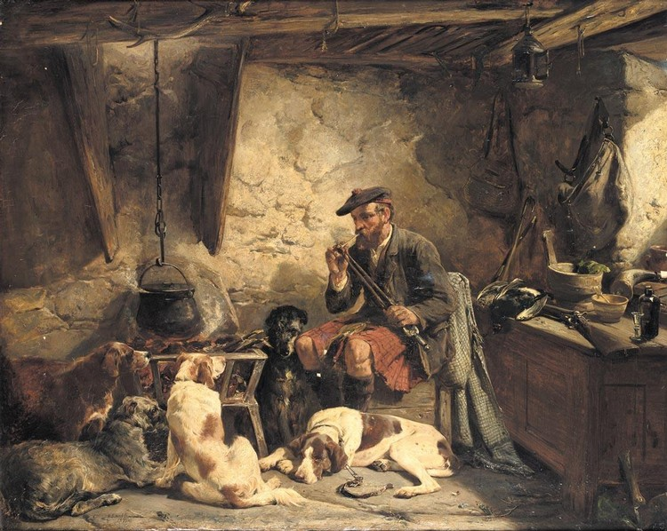 JOHN SARGEANT NOBLE 1848-1896 THE KEEPER'S BOTHIE