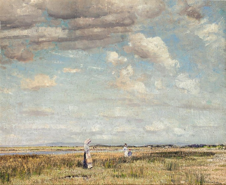 WILLIAM PAGE ATKINSON WELLS 1872-1923 AMONG THE SEDGE GRASS