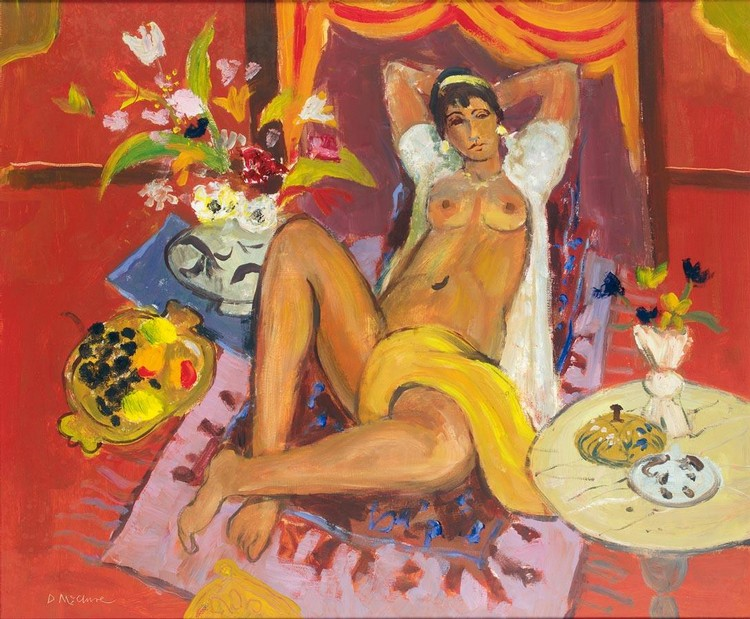 DAVID MCCLURE 1926-1998 ODALISQUE
