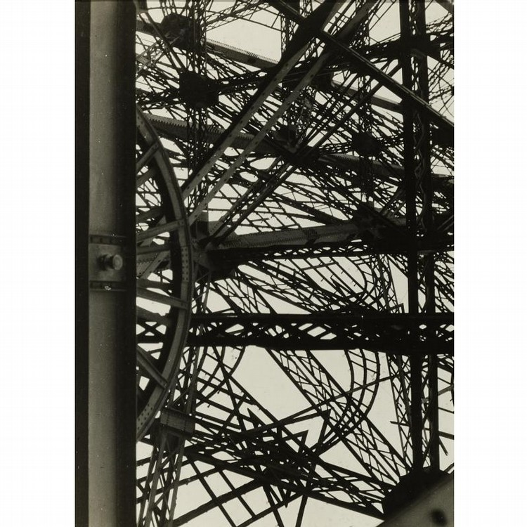 GERMAINE KRULL 1897-1985 EIFFEL TOWER