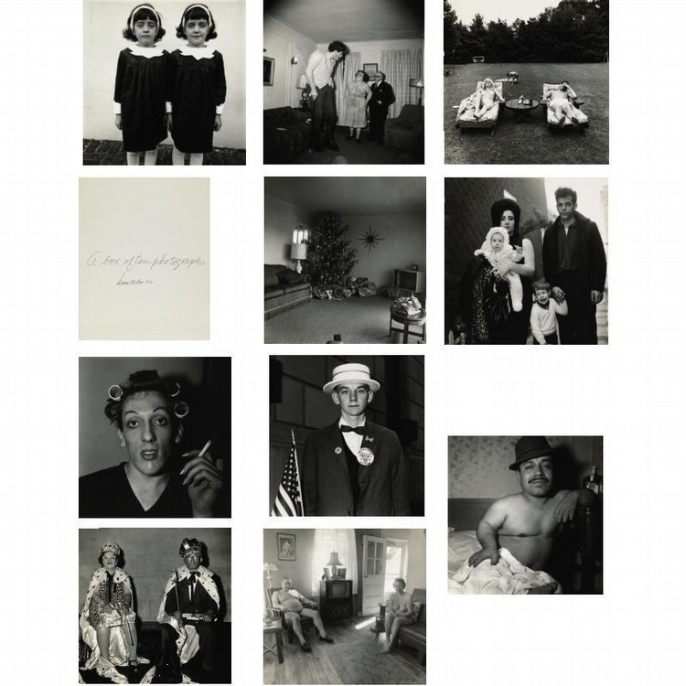 DIANE ARBUS (1923-1971)/NEIL SELKIRK (B. 1947) 'A BOX OF TEN PHOTOGRAPHS'