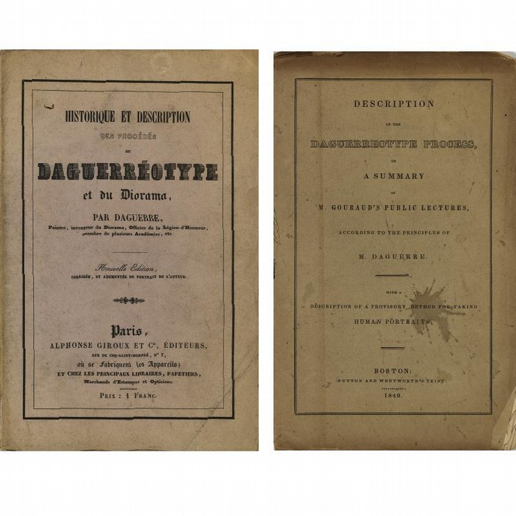 PROPERTY FROM THE ESTATE OF BRADFORD K. BACHRACH LOUIS JACQUES MANDÉ DAGUERRE 1787-1851 SELECTED