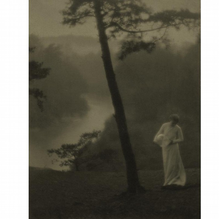 PROPERTY ORIGINALLY FROM THE COLLECTION OF LAURA GILPIN CLARENCE H. WHITE 1871-1925 'MORNING'