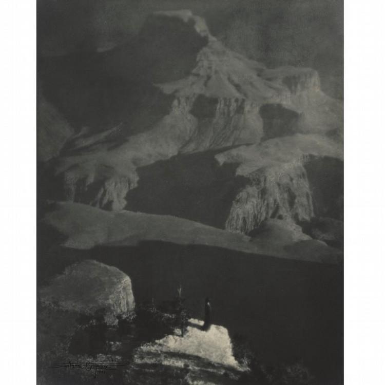 ANNE W. BRIGMAN 1869-1950 'SANCTUARY/THE GRAND CANYON'