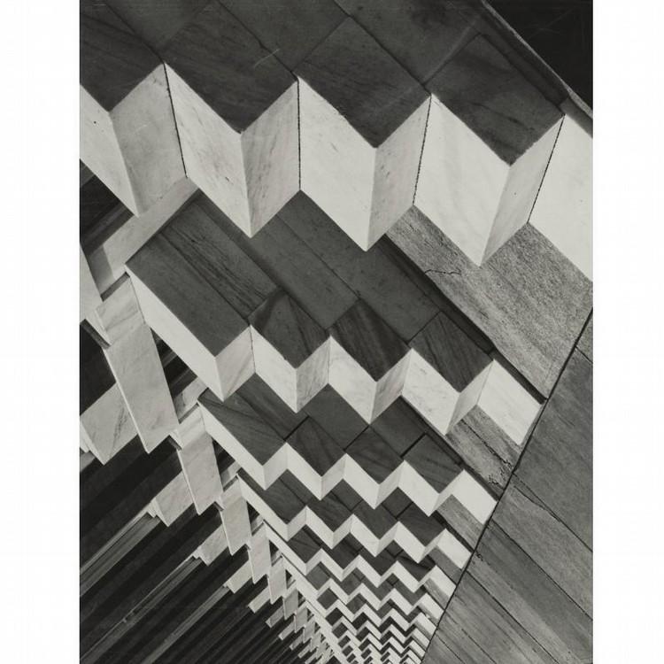 A. AUBREY BODINE 1906-1970 'CUBIST STEPS (BALTIMORE)'