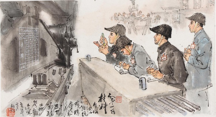 FEI XINWO (FEI XINGWU) (B. 1903) INTELLECTUALS MUST BE INVOLVED WITH PRACTICAL THINGS IN LIFE